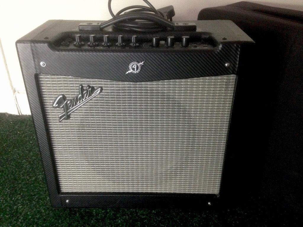 guitar amp fender mustang ii 40 w 12 inch speaker with cover guitar combo in drumchapel. Black Bedroom Furniture Sets. Home Design Ideas