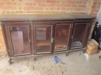 Antique Sideboard/ Bookcase