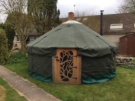 Beautiful 5 meter yurt