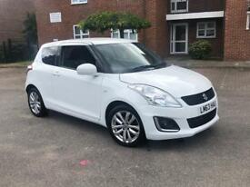Suzuki Swift SZ3 2014 White *Years MOT*