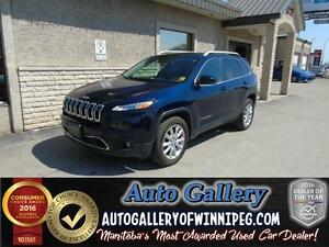2016 Jeep Cherokee Ltd.4x4*Lthr