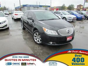 2011 Buick LaCrosse CXL   AWD   LEATHER   ROOF