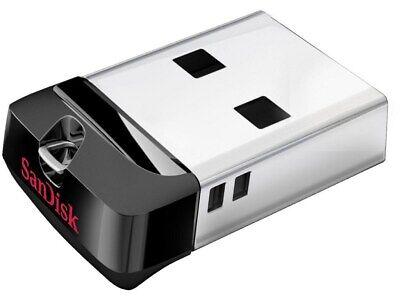 - SanDisk Cruzer Fit SDCZ33 16GB Mini USB Flash Drive Memory Thumb Stick 16 GB 16G