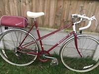 Vintage Ladies Raleigh Bike. Eroica suitable.