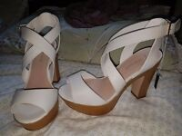 size 6 ladies platform heels from new look never worn antrim