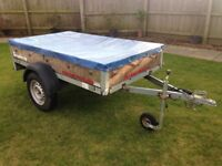 Brenderup car trailer - 7x4 - not ifor williams or Brian james
