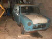 MINI COOPER 1962 MK1 PROJECT NON RUNNER