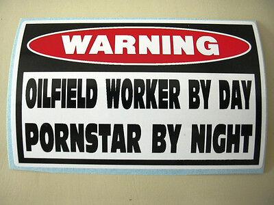 Funny Oil Field Well Rig Drill Derrick Worker Hardhat Tool Box Sticker Decal 792