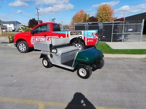 2011 club car Carryall TURF 1  GAS  UTILITY CART Belleville Belleville Area image 1