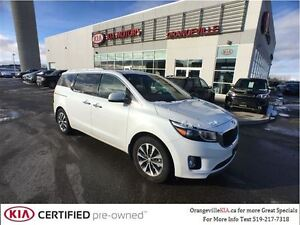 2016 Kia Sedona SX+ 7pass *CPO* Leather