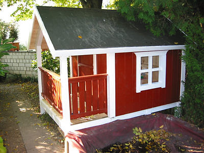 Bauplan Bauanleitung Kinderspielhaus Stelzenhaus Spielhaus Baumhaus Schwedenhaus