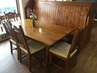 Dining Table - Solid wood, very sturdy, attractive table