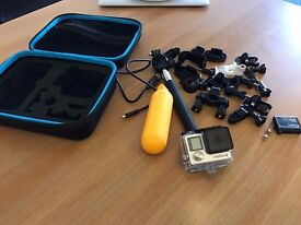 GoPro Hero 4 Black Edition + Carry Case + Extra Battery + Loads of Accessories Go pro