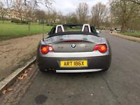 BMW Z4 CONVERTIBLE PRIVATE PLATE BARGAIN!!£2850