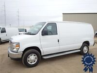 2013 Ford E-250 Cargo Van - 7,295 KMs, RWD, 4.6L V8 Gas, Call Us