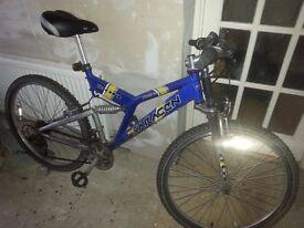 Saracen Ikon mountain bike.