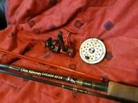 Shakespeare rod, 2nd rod and 2 reels