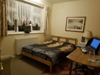Nice Double Room At Gantshill in a family House