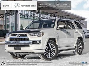 2015 Toyota 4Runner Limited!!! Accident Free!! Nav, Bluetooth, 4