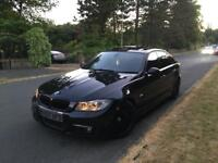BMW 335D M SPORT TWIN TURBO E90 3 SERIES FULL LCI CONVERSION FULLY LOADED HPI CLEAR 340 BHP DYNO