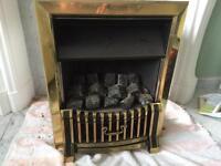Gas Fireplace 48 W x59 H cm external dimensions