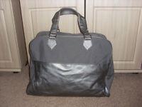 Lancome Paris Silver/Grey Travel Bag