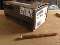 Concrete Screws 7.5 x 120mm - 100 pack