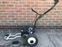 Fraser fold away electric golf trolley