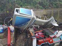 Suzuki DT85 Outboard (spares or repair)