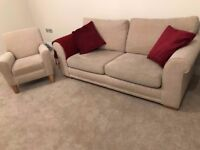 Next Sofa and Single Chair