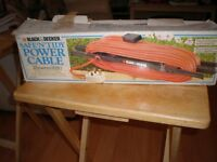 BLACK AND DECKER SAFE N TIDY POWER CABLE BOXED