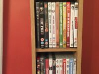 DVD stand plus dvds