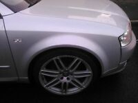 "AUDI 18"" RS4 ALLOYS WITH GOOD TYRES VW T4"