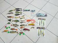 big collection of pike/perch lures