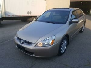 2004 Honda Accord EX-L Leather and Sunroof Accident free