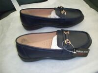 Black Loafers size 5 triple e fitting