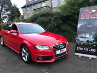 ~SOLD~ 2011 AUDI A4 AVANT 2.0 TDI S LINE 2 YEARS WARRANTY S/S diesel estate black edition inlays