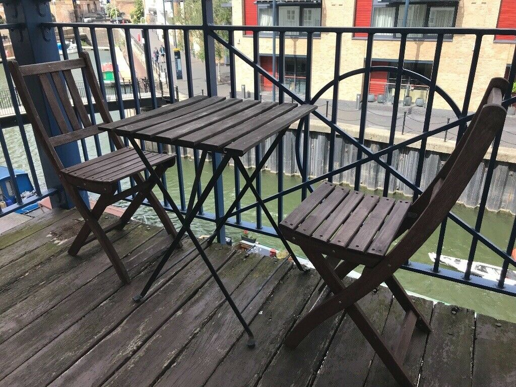 Ikea Outdoor Balcony Table Chairs And Cushions In Tower Hamlets London Gumtree