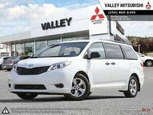2015 Toyota Sienna L-FOLD FLAT 3RD ROW, BACKUP CAMERA