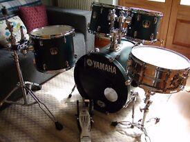 Yamaha Stage Custom Drum Kit.. With 20x18 inch Bass Drum & Hardware Quality Kit