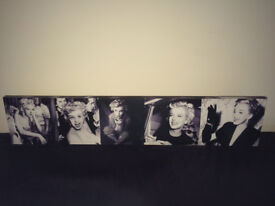 Sell a black and white Marilyn Monroe picture: £10