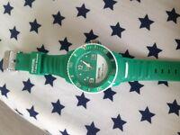 Emerald ice watch