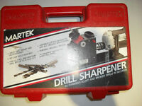 Drill Sharpener In Case With Instructions