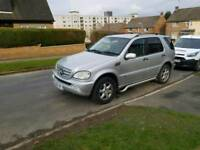 Mercedes 4x4 Ml270 7 seater automatic