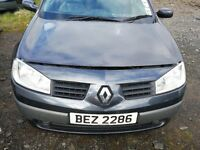 Renault Megane 2005 2nd - For parts only!