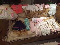 Baby girl clothes 3-12 months!!!