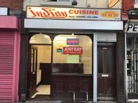 Indian takeaway business for sale in Doncaster