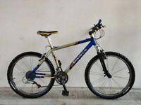 "SERVICED, (4168) 26"" 18"" DAWES WATOGA Aluminium MOUNTAIN BIKE BICYCLE Height: 165-180 cm"