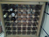 Wine Rack - large wooden (36 bottle)