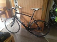Specialised Sirrus Carbon Pro. Carbon Fibre flat bar road bike. Size XL. Near showroom condition.